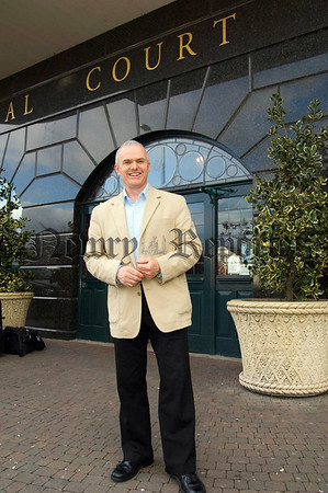 Frank Mitchell in the Canal Court Newry.