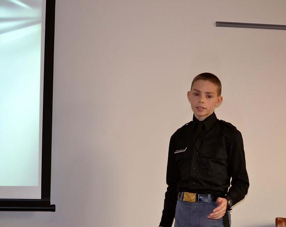 Computer Class Gives Final Presentations