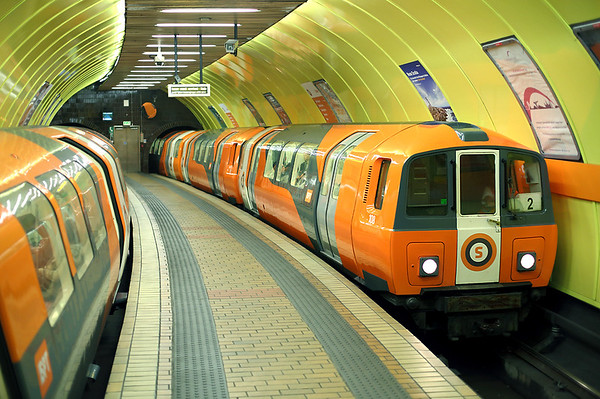 20th August 2013: Glasgow Subway