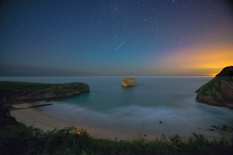 Summer Night Beach Asturias-1.jpg