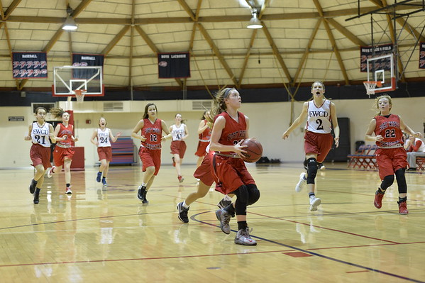 FWC Basketball Girls 8th  2-2-2016