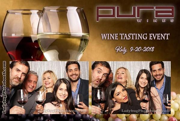 Pura Wine Tasting