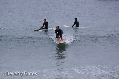 Hermosa Beach Surfers 0911