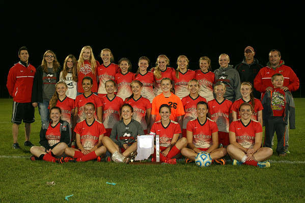 Girls Soccer vs. Lakeland (Sectional Championship)