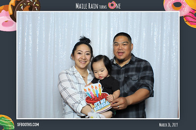 Maile Rain Turns One - March 23, 2019