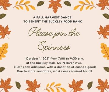"2021 (October) ""Fall Harvest"" dance"