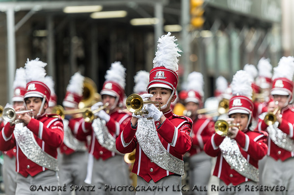 The 253rd Saint Patrick's Day Parade in New York City