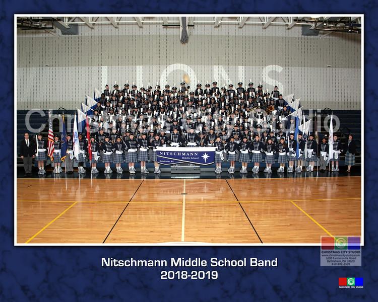 2018-2019 Band Groups