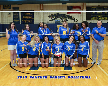 2019 Panther Volleyball