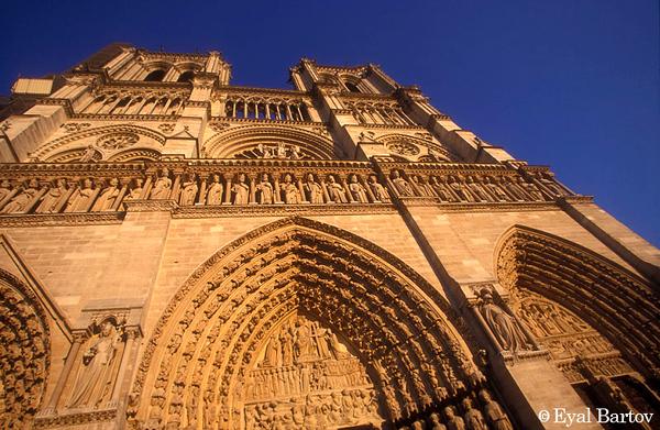Cathedral of Notre Dame de Paris-קתדרלת נוטרדאם,פריז
