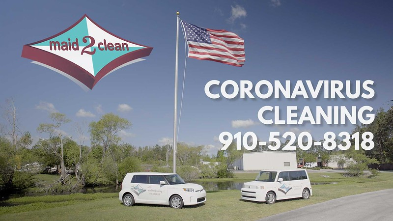 Maid2Clean- Coronavirus cleaning
