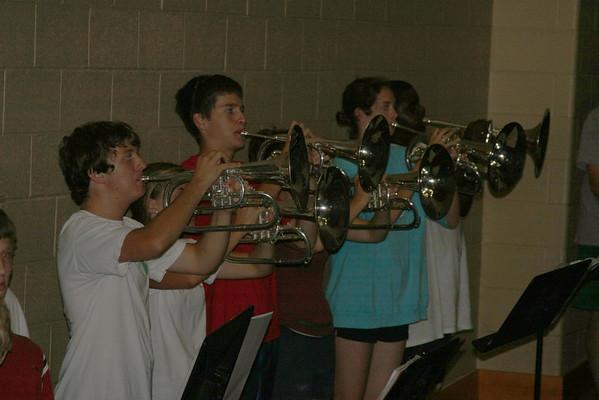 2008-08-13: Band Camp Day 8 - Auditorium