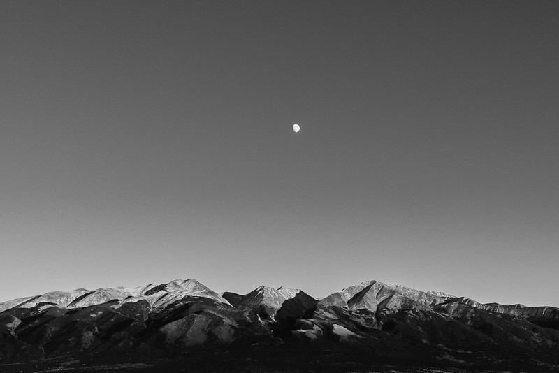 Moonrise over Sangre de Cristo Mountains (2018)