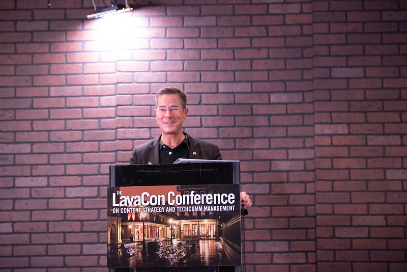 LavaCon 2018 Monday People, Presenters, and Vendors