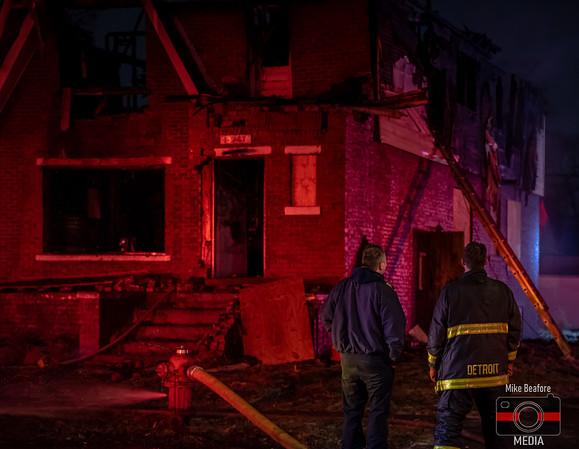 Detroit MI, House Fire 1-12-2020