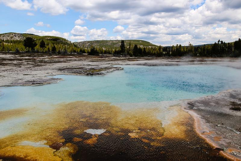 Sapphire Pool - Yellowstone National Park