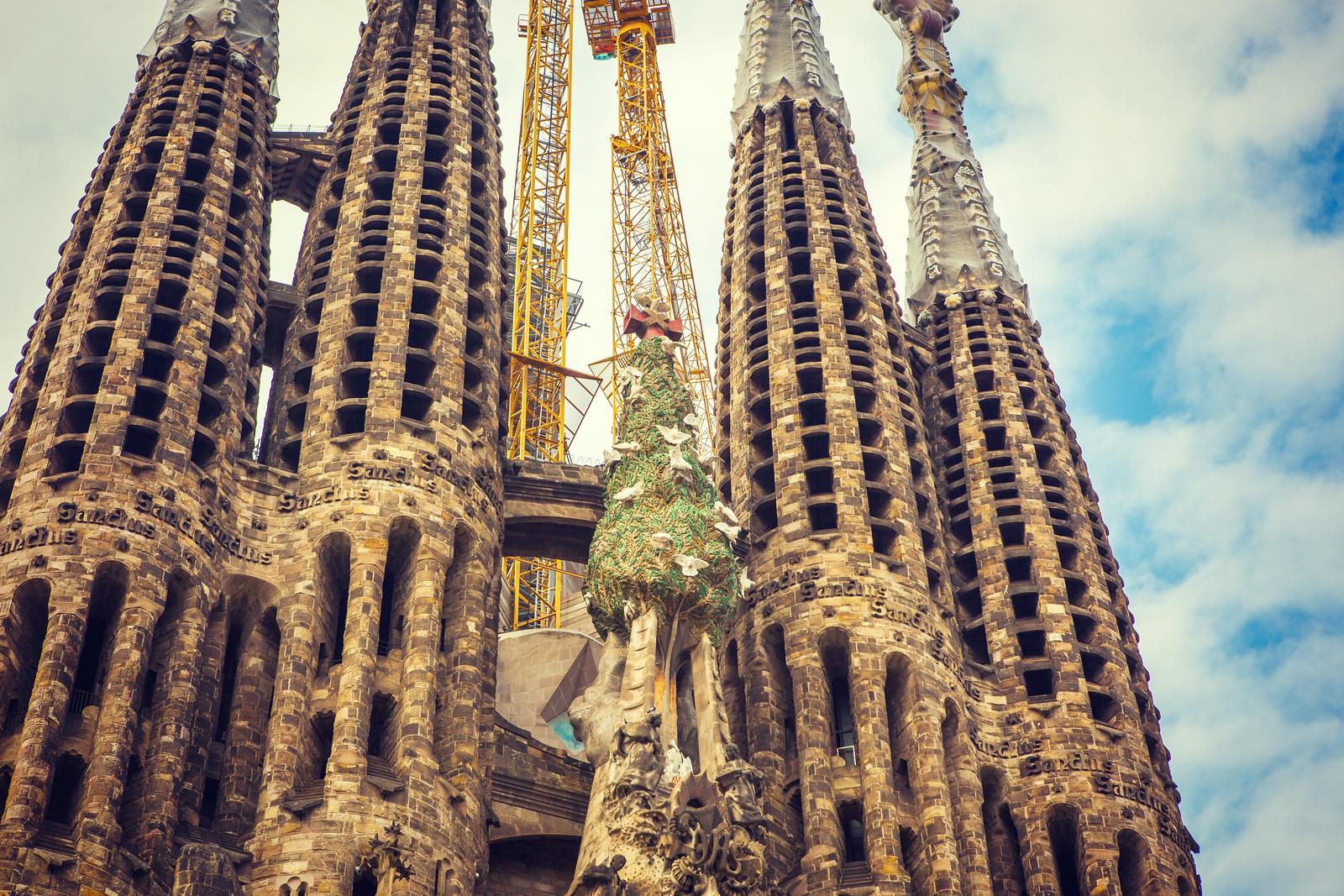 西班牙圣家堂(Sagrada Família), 上帝建筑师-高第的作品