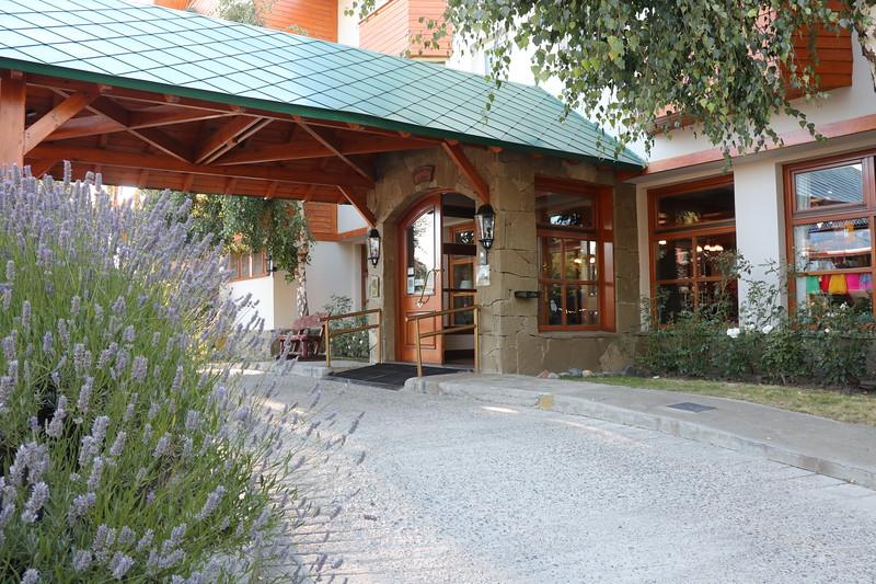 Leaving Kosten Aike Hotel in El Calafate
