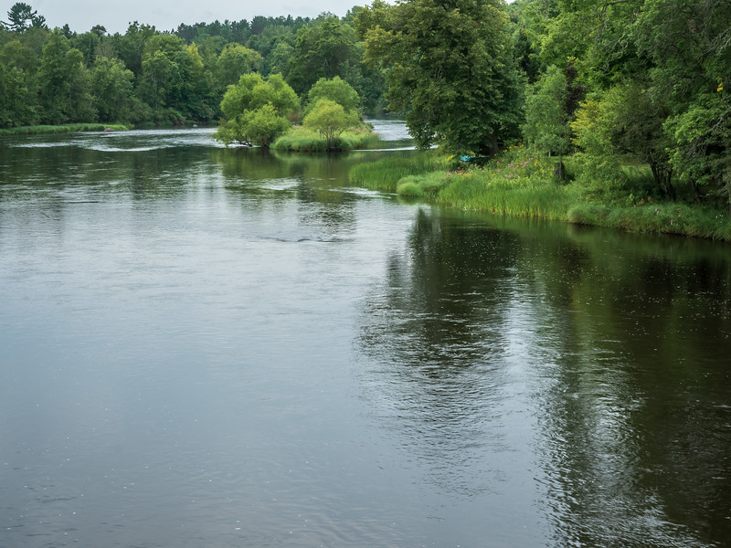 The Chippewa River In Sawyer County