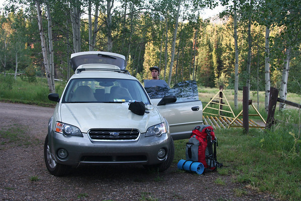 Flat Tops Wilderness Area. July 2007