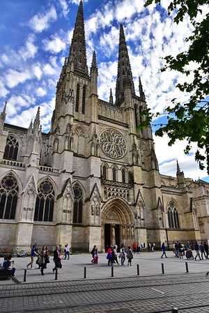 Cathedral of Bordeaux:  Saint Andre