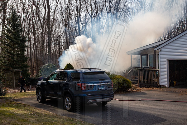Vernon, Ct Brush fire 2/24/20