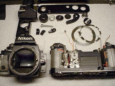 Nikon camera repair