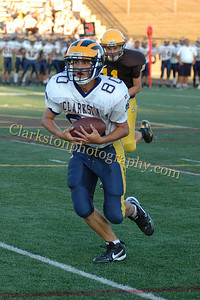 2010 Clarkston JV Football vs Adams