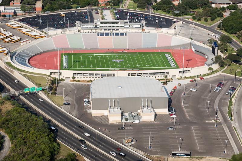 09/23/2014 092451 -- San Antonio, TX -- © Copyright 2014 Mark C. Greenberg  Alamo Stadium
