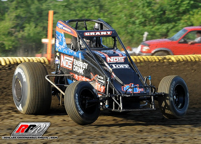 Bridgeport Speedway - USAC Sprints - 6/12/19 - Lee Greenawalt