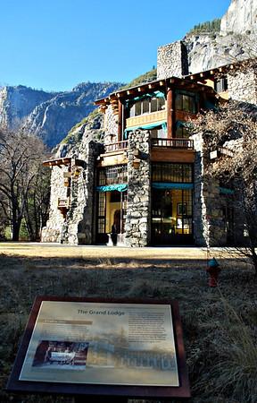 Yosemite National Park's Ahwahnee Hotel