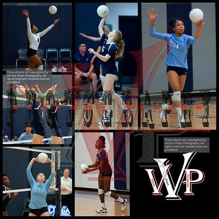 W.T. Woodson @ Colgan Varsity Girls Volleyball 11-7-18 | VHSL Regional Playoffs