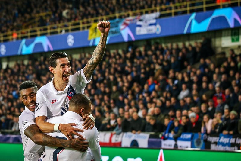 22-10-2019: Voetbal: Club Brugge v PSG: Brugge