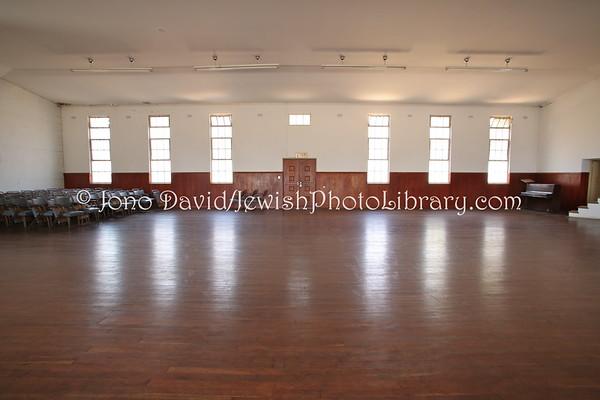 ZIMBABWE, Harare. Sephardi Hebrew Congregation, Rodis Community Memorial Hall (8.2012)