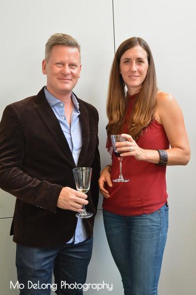 Tiziano Straccia and Emily Hagopian