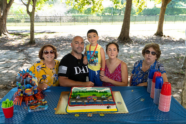 Jameson's 3rd birthday party