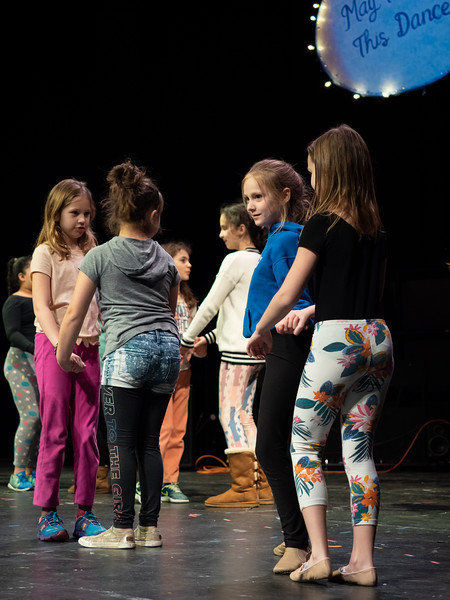 May I Have This Dance Tech Rehearsal, South Kingstown High School, February 28, 2019; Peace Dale Elementary School and GEAR Productions