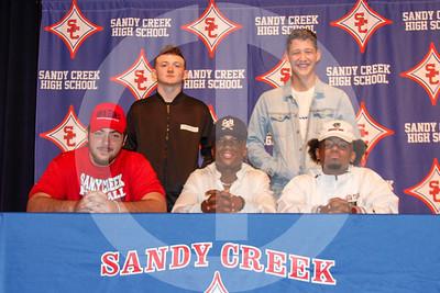 Sandy Creek Signings 2-5-20