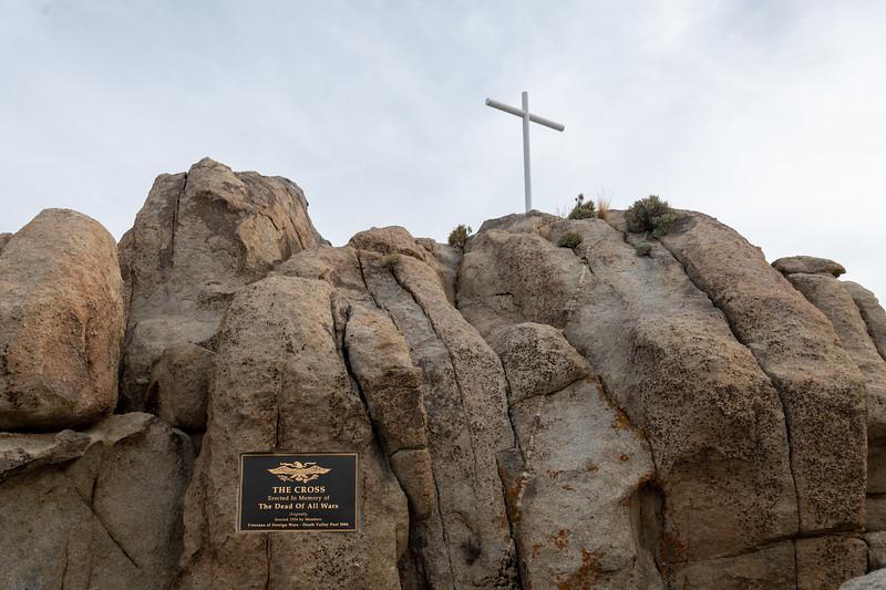 Mojave Cross
