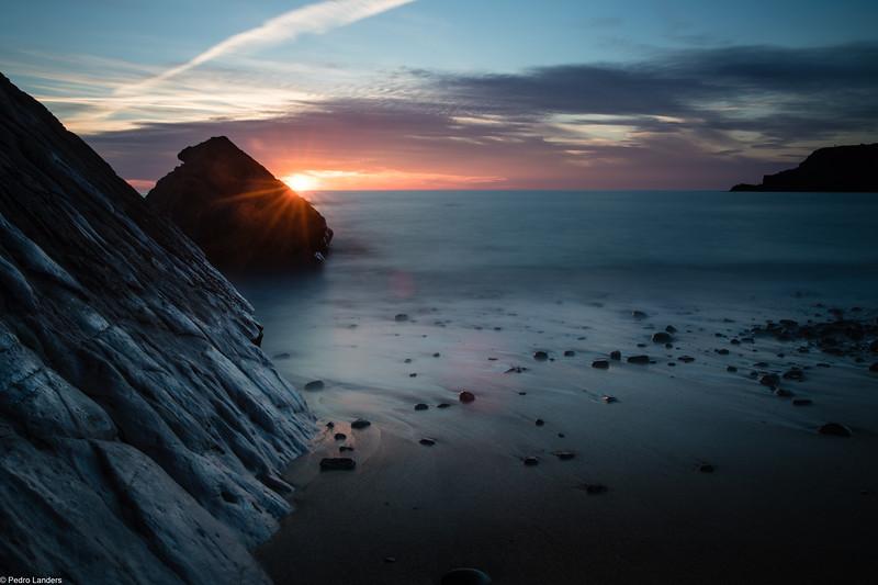 Widemouth Sunset 1