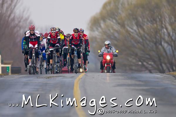 40+, 50+, 60+ Men <br> Strasburg Road Race 3/15/2008
