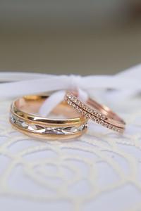 The Rings- Danielle & Andy Bruno Wedding Photography- Holy Trinity Westfield, MA/ Chez Josef Agawam, Mass.