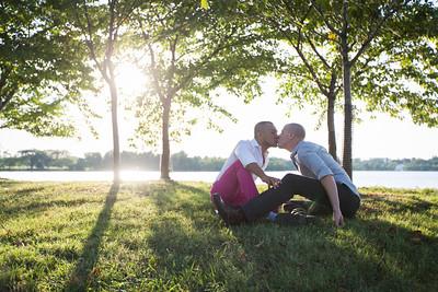 C+J 00 Engagement @ Jefferson Memorial