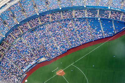 Jays Stadium from the CN Tower, Toronto, Canada
