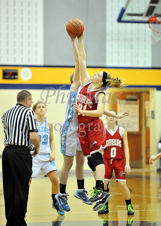 Daniel Boone VS Hamburg Girls Basketball 2011 - 2012