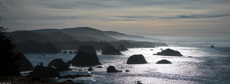 Coastal View in Elk, CA