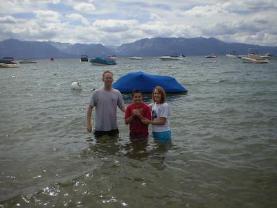 2010 Tahoe baptisms