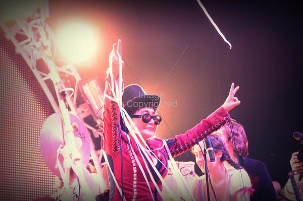 Yoko Ono, Plastic Ono Band, The Flaming Lips, New Years Freakout 5. January 1, 2012. Oklahoma City, Oklahoma