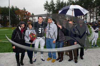 Football Senior Day vs. Stonehill (11/1/14) Courtesy Jim Stankiewicz