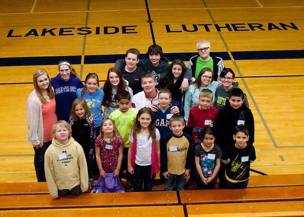 St. John Jefferson 2nd graders visit LLHS March 2015